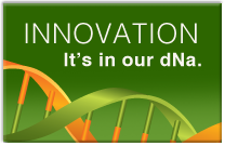 Innovation. Its in our dNa.